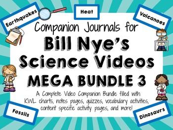 Bill Nye the Science Guy Mega Bundle 3 - Video Journals
