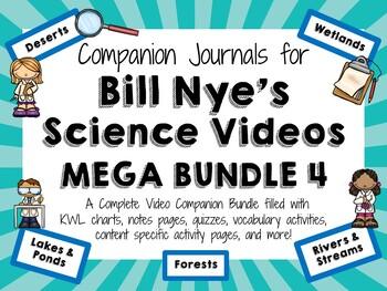 Bill Nye the Science Guy Mega Bundle 4 - Video Journals