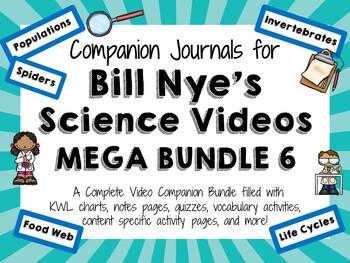 Bill Nye the Science Guy Mega Bundle 6 - Video Journals