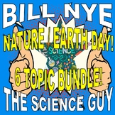 Bill Nye the Science Guy : NATURE / ENVIRONMENT (6 video worksheets mini-bundle)