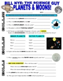 Bill Nye the Science Guy : PLANETS AND MOONS (space / plan
