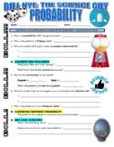Bill Nye the Science Guy : PROBABILITY (STEM video worksheet)