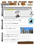 Bill Nye the Science Guy : ROCKS & SOIL (Earth Science video worksheet)