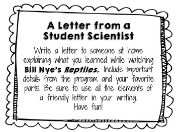 Bill Nye the Science Guy: Reptiles - Video Journal