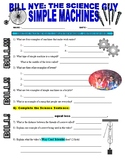 Bill Nye the Science Guy : SIMPLE MACHINES (STEM video worksheet)