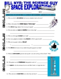 Bill Nye the Science Guy : SPACE EXPLORATION (space / planets video worksheet)