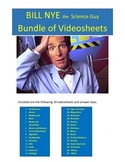 Bill Nye 30 Video worksheets Bundle Package!