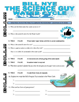 bill nye the science guy water cycle worksheet answers bill best free printable worksheets. Black Bedroom Furniture Sets. Home Design Ideas