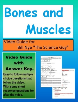 Bill Nye: S2E8 Bones and Muscles systems video follow along (with answer key)