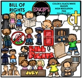 Bill Of Rights Clip Art Bundle {Educlips Clipart}