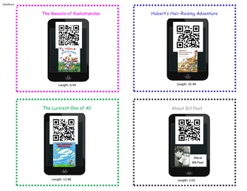 Bill Peet QR Code Reading and Listening Activity - Safe Share
