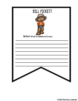 Bill Pickett Research Report Banner Template