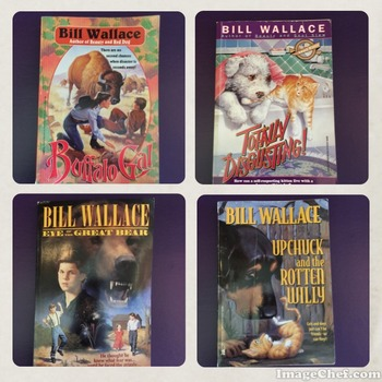 Bill Wallace Assorted Pack Literature Fun 6 Books