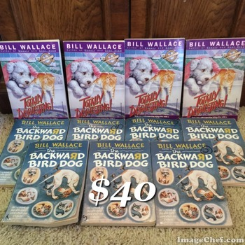 Bill Wallace Literature Circle 11 books