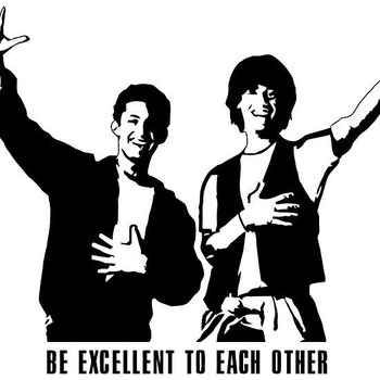 Bill and Ted's Excellent Adventure Project