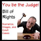 Bill of Rights from the Constitution Scenarios Games and Review