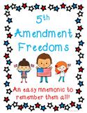 Bill of Rights: 5th Amendment Freedoms