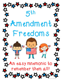 Bill of Rights: 5th Amendment Freedoms