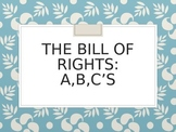 Learning the Bill of Rights ABC's