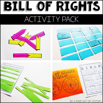 Bill of Rights Activity Pack