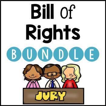 Bill of Rights Activity BUNDLE