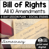 Bill of Rights (All 10 Amendments) for Google Classroom™ | Distance Learning