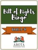 Bill of Rights BINGO Game