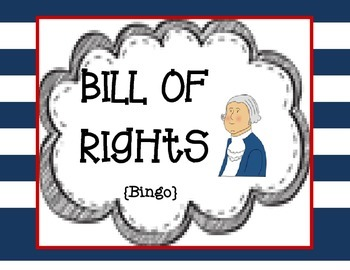Bill of Rights Bingo!!!