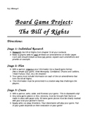 Bill of Rights Board Game Project