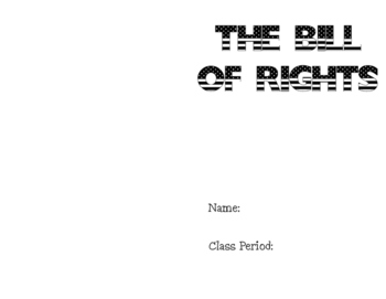 Bill of Rights Booklet