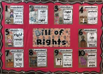 Bill of Rights Bulletin Board Set