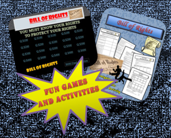 Bill of Rights Bundle of Resources and Activities