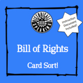 Bill of Rights:  Card Sort!
