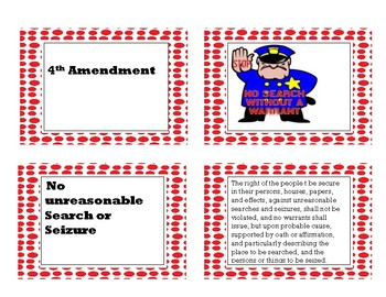 Bill of Rights Card Sort