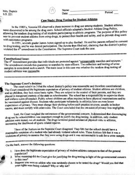Bill of Rights - Case Studies (Four)