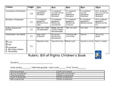 Bill of Rights Children's Book Rubric