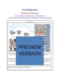 Bill of Rights / Civil Liberties Political Cartoon Analysis