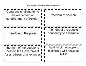 Bill of Rights Mini-Unit