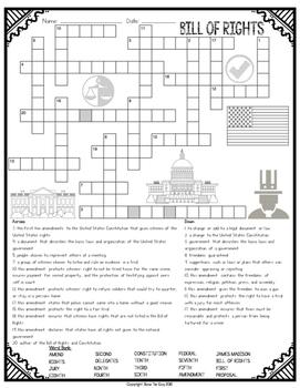 Bill of Rights Crossword