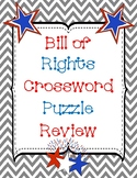 Bill of Rights Crossword Puzzle Review