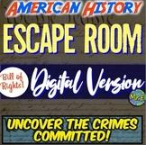 Bill of Rights DIGITAL Escape Room | Bill of Rights Distan