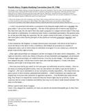 Bill of Rights Debate - Federalist-Antifederalist Debate P