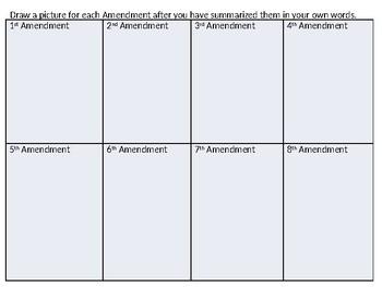 Bill of Rights ENL Worksheet
