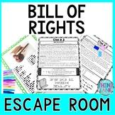 Bill of Rights ESCAPE ROOM - Amendments to the U.S. Consti