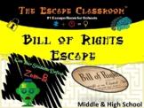 Bill of Rights Escape Room (Middle & High School) | The Escape Classroom