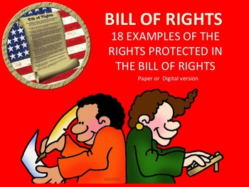 Bill of Rights, Examples of rights protect in Bill of Rights