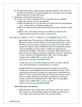 Bill of Rights - First 10 Amendments