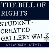 Bill of Rights Activity Student-Created Gallery Walk for US Constitution