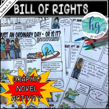 Bill of Rights Graphic Novel Activity