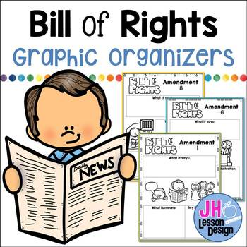 Bill Of Rights Graphic Organizer Teaching Resources Teachers Pay